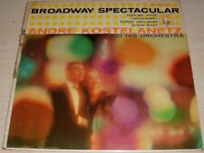 ANDRE KOSTELANETZ BROADWAY SPECTACULAR 1956 MONO COLUMBIA RECORDS CL 865