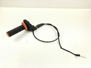 98 KTM 125 250 300 EXC MXC SX Throttle Tube Cable Housing Grip