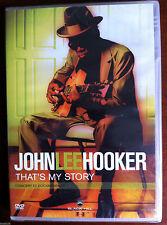 (C1)DVD - JOHN LEE HOOKER - That's My Story - Concert et Documentaire - NEUF -