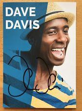 "Dave Davis AK ""Motombo Umbokko"" Autogrammkarte (2) original signiert"