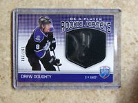 08-09 BAP Be a Player Rookie Jersey DREW DOUGHTY /299