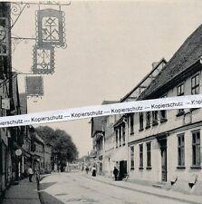 Parchim - Lange Straße - Gasthäuser -  um 1925 - selten!       M 26-20