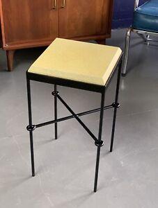 Vintage Italian Iron Capozzi Kovacs Side Table