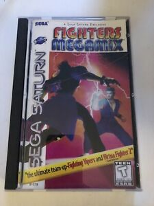 Fighters Megamix Sega Saturn Case & Manual Only (No Game) Good Condition
