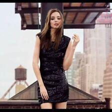 Mango Suit Sequin Dress Size leopardo negro lentejuelas talla S o mas elastico