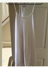 VICTORIA'S SECRET Racer back  SWIMSUIT COVER UP DRESS Size Small White