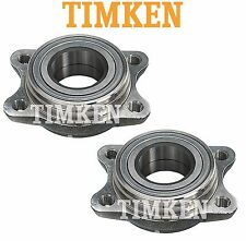 For Audi A4 A6 A8 Quattro S4 VW Passat Pair Set of Rear Wheel Bearings Timken