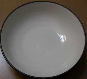 NORITAKE  COLORWAVE GRAPHITE 8034  SOUP / CEREAL  BOWL  7 in.  great condition