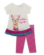 RARE EDITIONS® Girl's 2T Llama Applique 2-Piece Leggings Set NWT $50