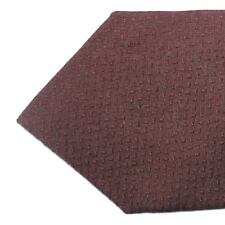 New ISAIA Sevenfold Tie Taupe Polka Dots Sartorial Silk Necktie 190894