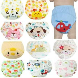 1Pcs Cute Baby Diapers Reusable Nappies Cloth Diaper Washable Infants Children B