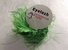 Trendsetter Eyelash Yarn #71 Lime Bright Green 20gr 80yds