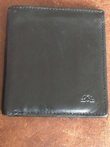 Tony Perotti Black Leather Wallet