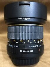 Falcon (Rokinon) 8mm f/3.5 Aspherical Lens For Sony/Minolta