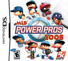 Major League Baseball Power Pros 2008 NDS New Nintendo DS