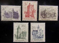 NED NVPH 568 - 572 Kastelen, Castles 1951 prachtig postfris CW 35,-