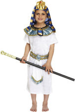 Childs Pharaoh Fancy Dress Outfit Costume Age 10-12 Years