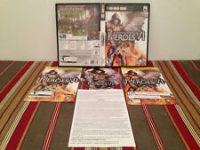 Heroes of might & magic VI PC case-disc & inserts NO CD-KEY can variant