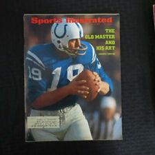 July 10. 1972 Johnny Unitas Sports Illustrated Magazine