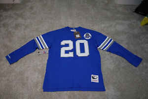 Mitchell & Ness NFL Name & Number Longsleeve Barry Sanders XL