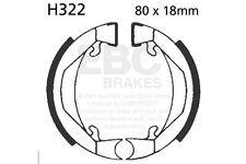 FIT PUCH Maxi 50 Spoke Wheels/2 Spe 73>80 EBC Plain Shoe Rear Left