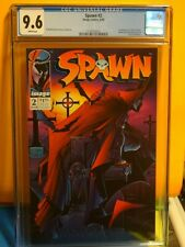 IMAGE Comics SPAWN # 2  CGC  9.6 !! 1st Appearance of VIOLATOR McFarlane spider