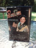 Vtg Patsy Cline 12 Greatest Hits Cassette Tape 1988 MCA Country Pop Music