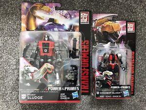 Transformers Dinobot Power of the Primes Sludge & Slash