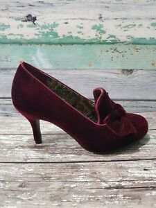 Joe Browns So Remarkable Shoes. Size 4. Deep red. New without box