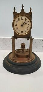 400 DAY ANNIVERSAY CLOCK NOT WORKING SPARES OR REPAIRS  RESTORATION