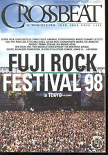 Crossbeat Japan Sep/1998 Fuji Rock 98 Iggy Pop Montrose Korn Garbage Ian Brown