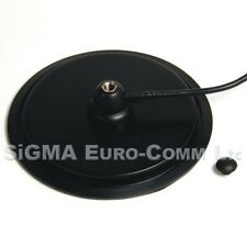 """7 """" Turbo Magnetic Mount 3/8 Fitting Rubber Boot  for CB & HAM Radio"""