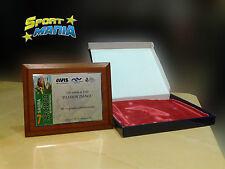 Targa per Premiazione Personalizzata Astuccio Base Legno Targa Stampa Gratuita