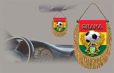 GHANA SOCCER FLAG CAR MINI BANNER, PENNANT