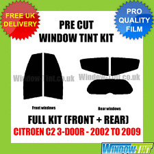 CITROEN C2 3-DOOR 2002-2009 FULL PRE CUT WINDOW TINT KIT