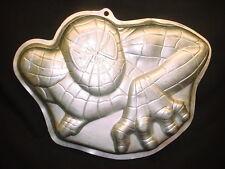 Wilton CRAWLING SPIDER MAN cake pan SPIDERMAN metal baking mold tin Halloween