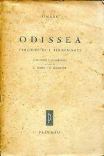 Omero = ODISSEA VERSIONE DI PINDEMONTE