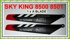 RC SKY KING HCW 8500 8501 PARTS MAIN BLADE 8500-08 07 A MAIN BLADE SPARE PARTS
