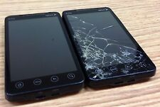 Read Fully: 2 HTC EVO 4G Black Sprint Phone - Bad ESNs - For Parts/Repairs Only!