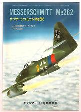MESSERSCHMITT Me-262 Model Art 367 Superb Vintage Luftwaffe Jet Book