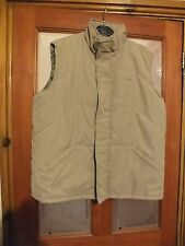 Ladies cream coloured Trespass body warmer