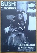 The Fatherland programme Bush Theatre at Riverside 1989 Jude Akuwudike