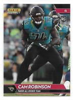 2017 Panini Instant NFL All-Rookie Team Cam Robinson Rookie Card - 1 of 300