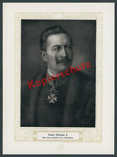 Lazar binenbaum Portrait Kaiser Wilhelm II. Medal Crown Noble Coat of Arms Berlin 1905