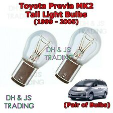 Toyota Previa Tail Light Bulbs Pair of Rear Tail Light Bulb Lights MK2 (99-05)