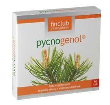 Fin Pycnogenol 60 tabl.- Finclub - antyoksydant, wspomaga krążenie krwi