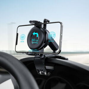 1pc Universal In Car Dashboard Mobile Phone Holder Suction Mount Windscreen GPS