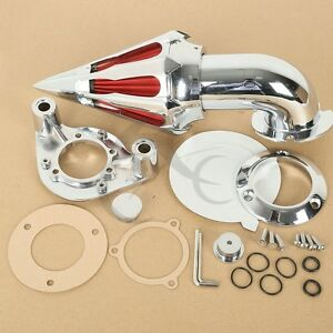 Motorcycle Air Cleaner Kit Intake Filter Fit For Harley Sportster 883 1200 91-06