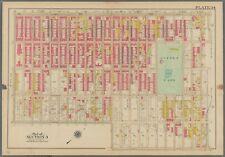 1908 Brooklyn Ny Sunset Park St. Alphonsus Church School & Convent Atlas Map