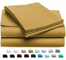 Luxury Home Super-Soft 1600 Series Double-Brushed 6 Pcs Bed Sheets Set (King,...